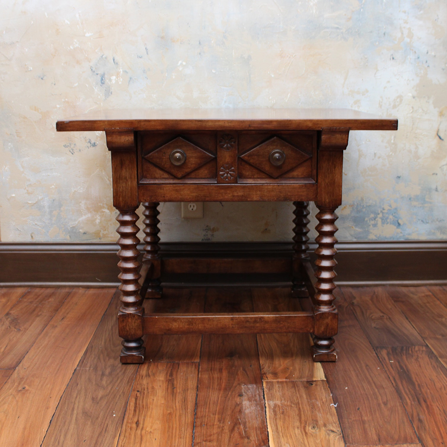 Spanish Revival Style Side Table