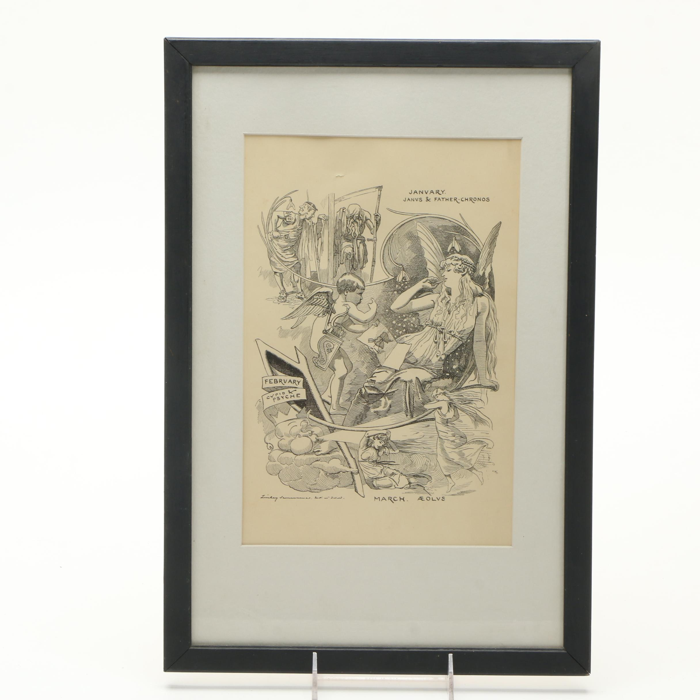 Edward Linley Sambourne Engraving on Paper