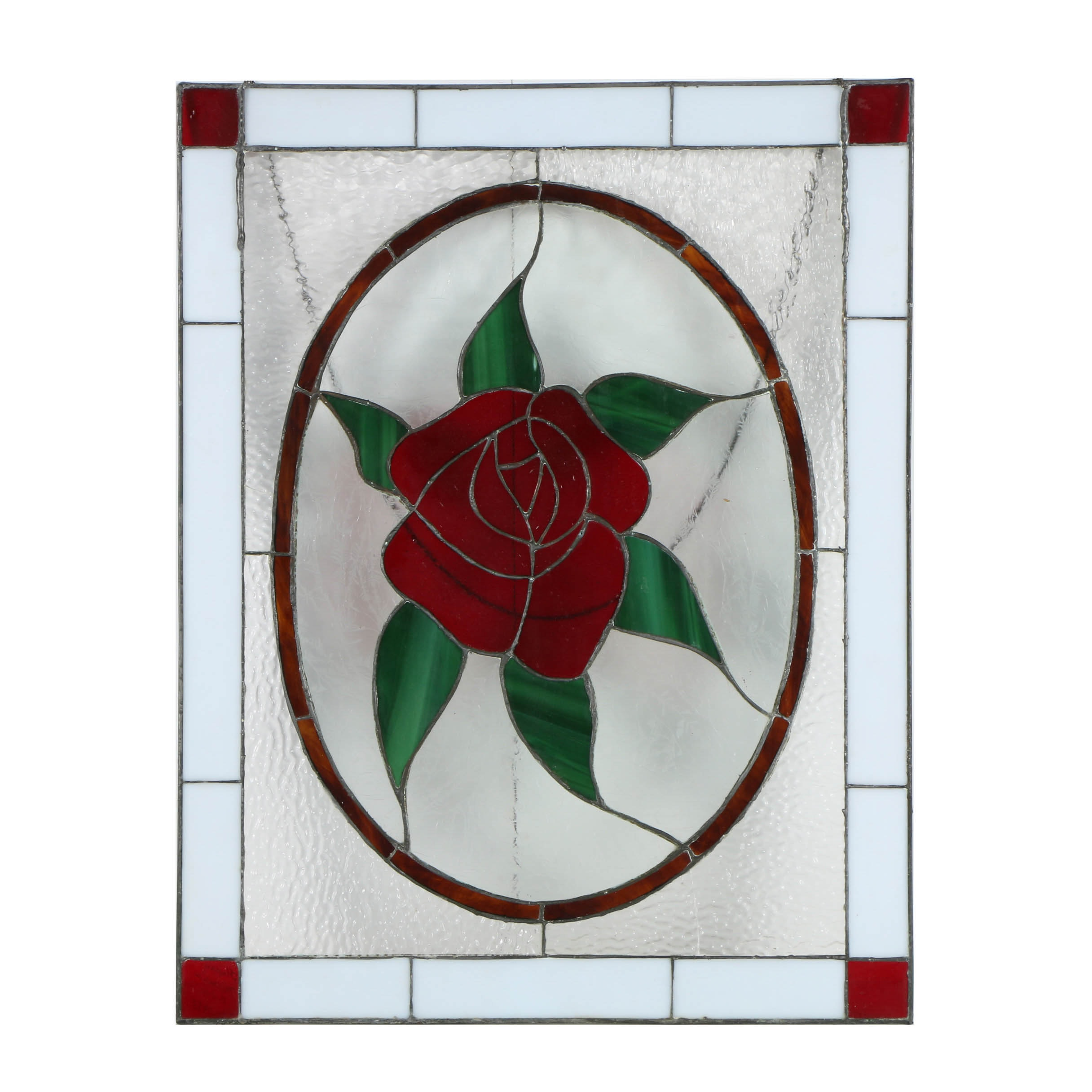 Decorative Floral Stained Glass