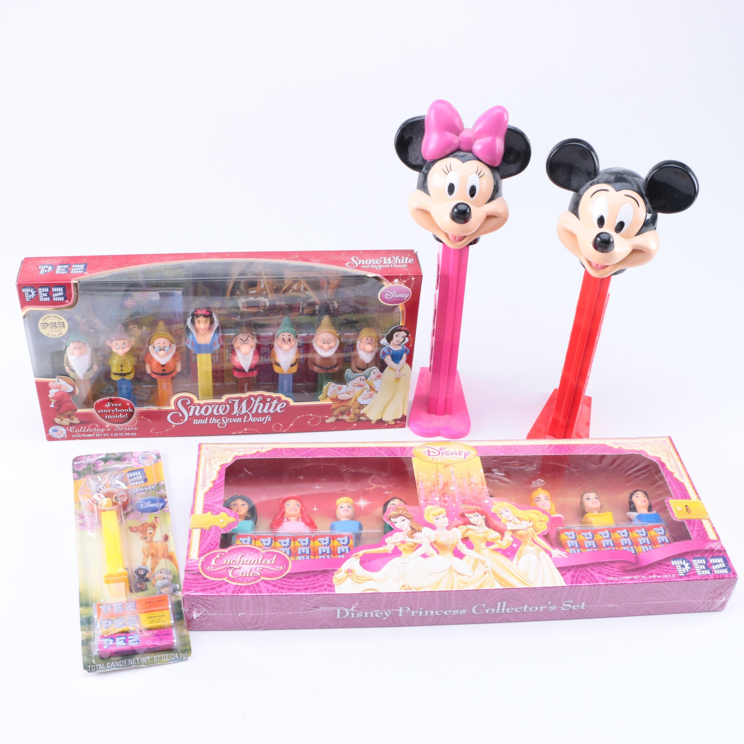 Walt Disney PEZ Dispensers