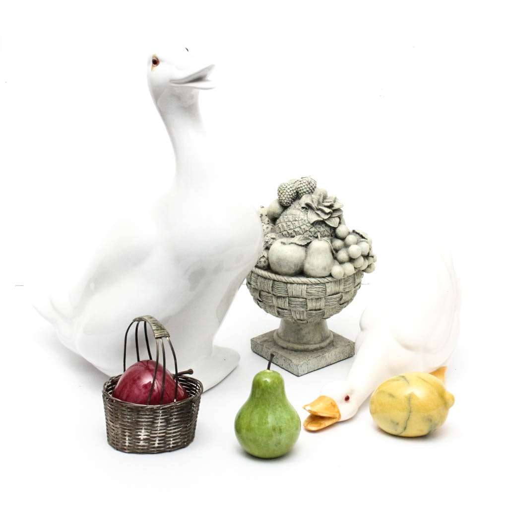 Flora and Fauna Figurines