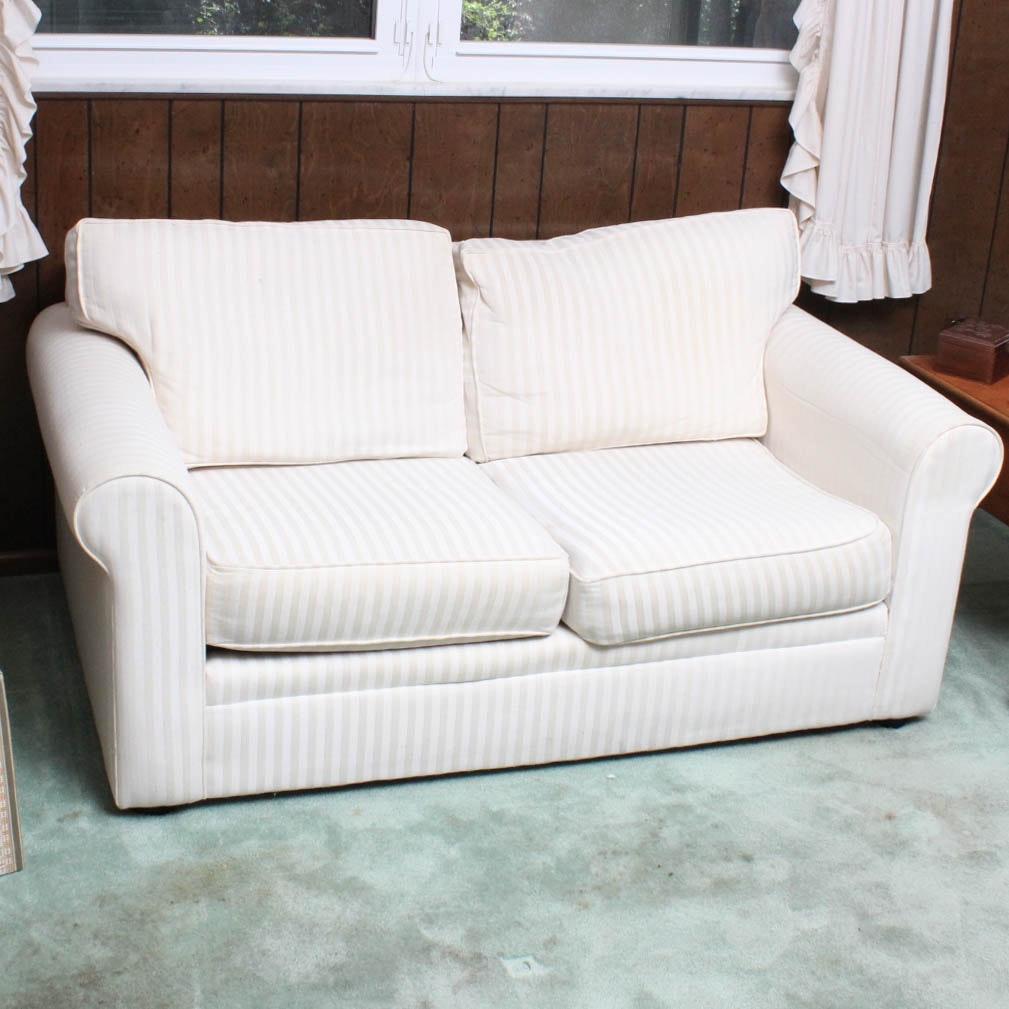 Vintage Upholstered Loveseat by Bauhaus