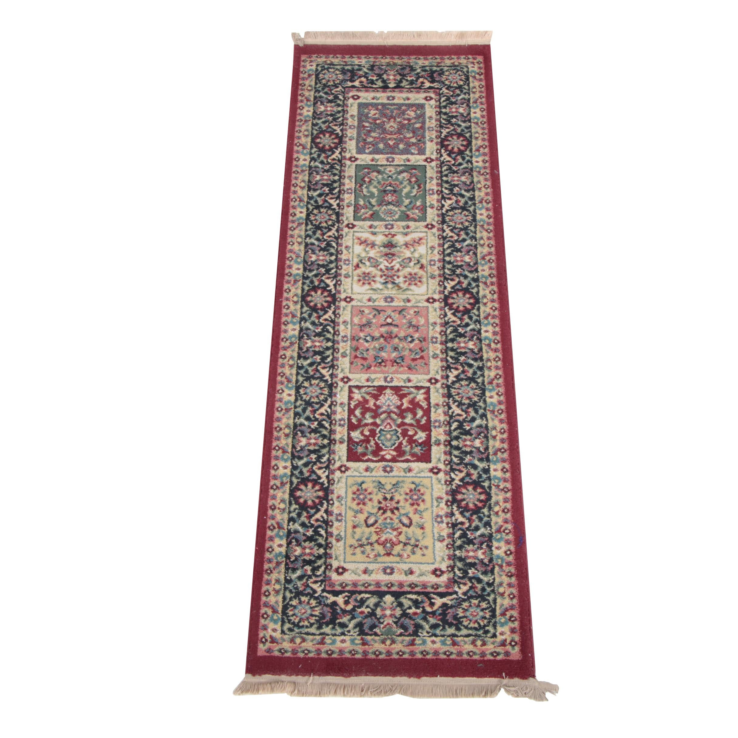 """Shaw Rugs """"Sassy Collection""""  Machine Made Carpet Runner"""