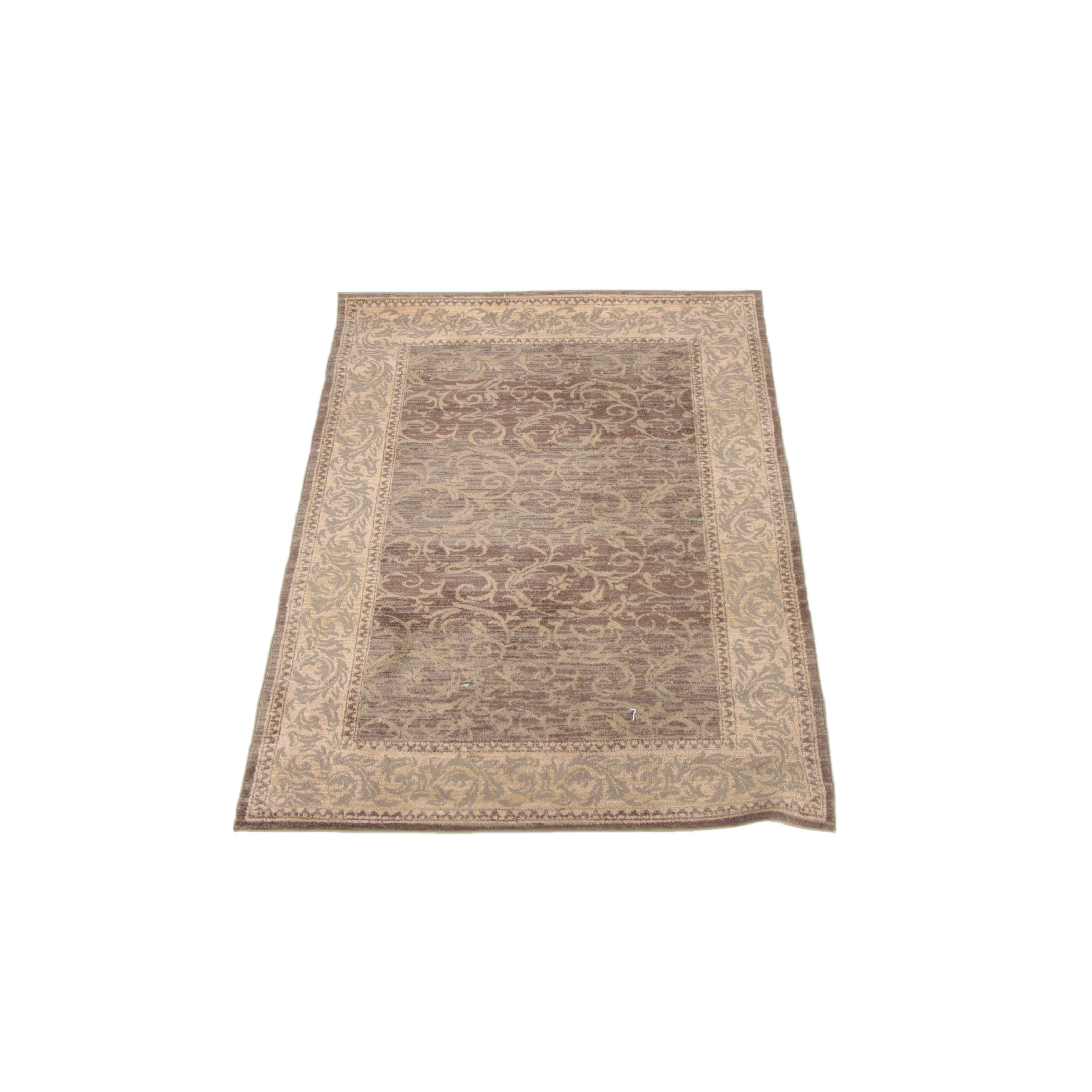 "power-loomed ""superior antiqua"" area rugat home : ebth at Home Area Rugs"