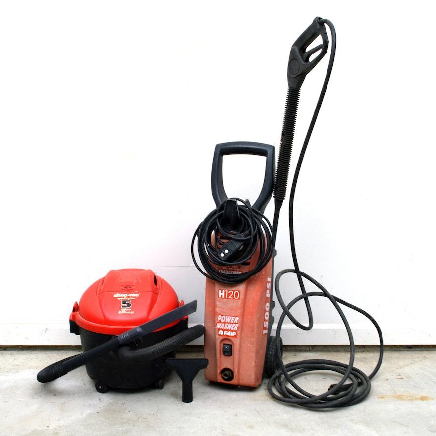 Tradesman H120 Power Washer And Shop Vac
