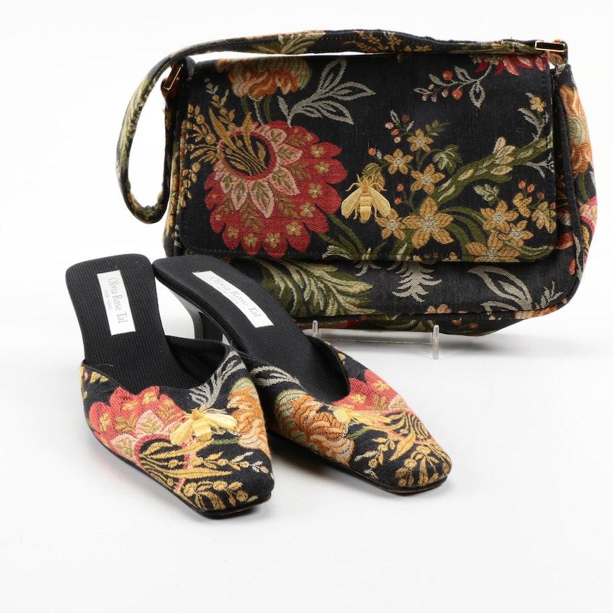 d44ae3b5f8d Olivia Rose Tal Matching Handbag and Mule Heel Set   EBTH