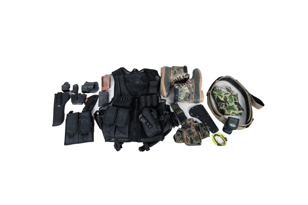 Collection of Outdoorsman Gear
