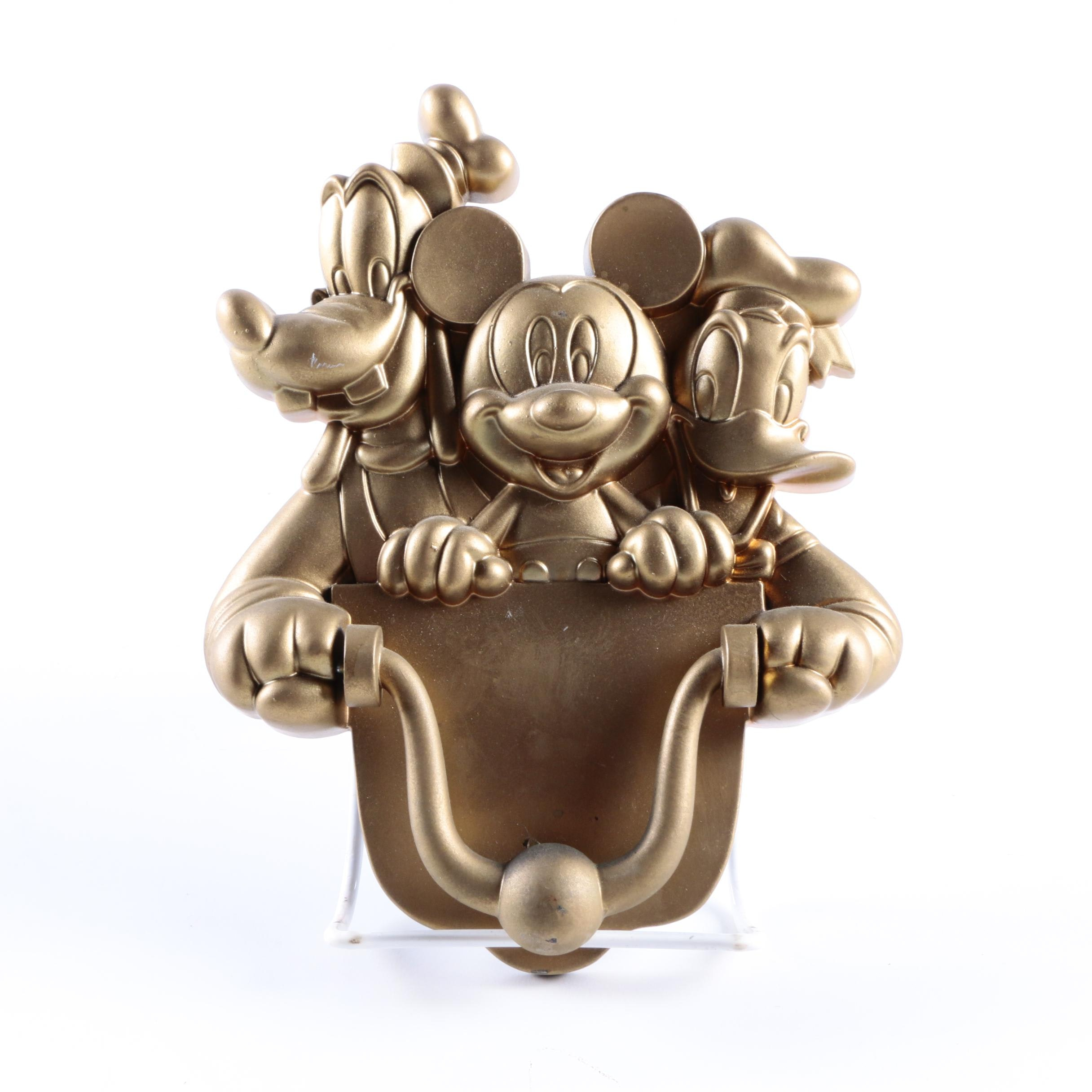 Disney Metal Door Knocker