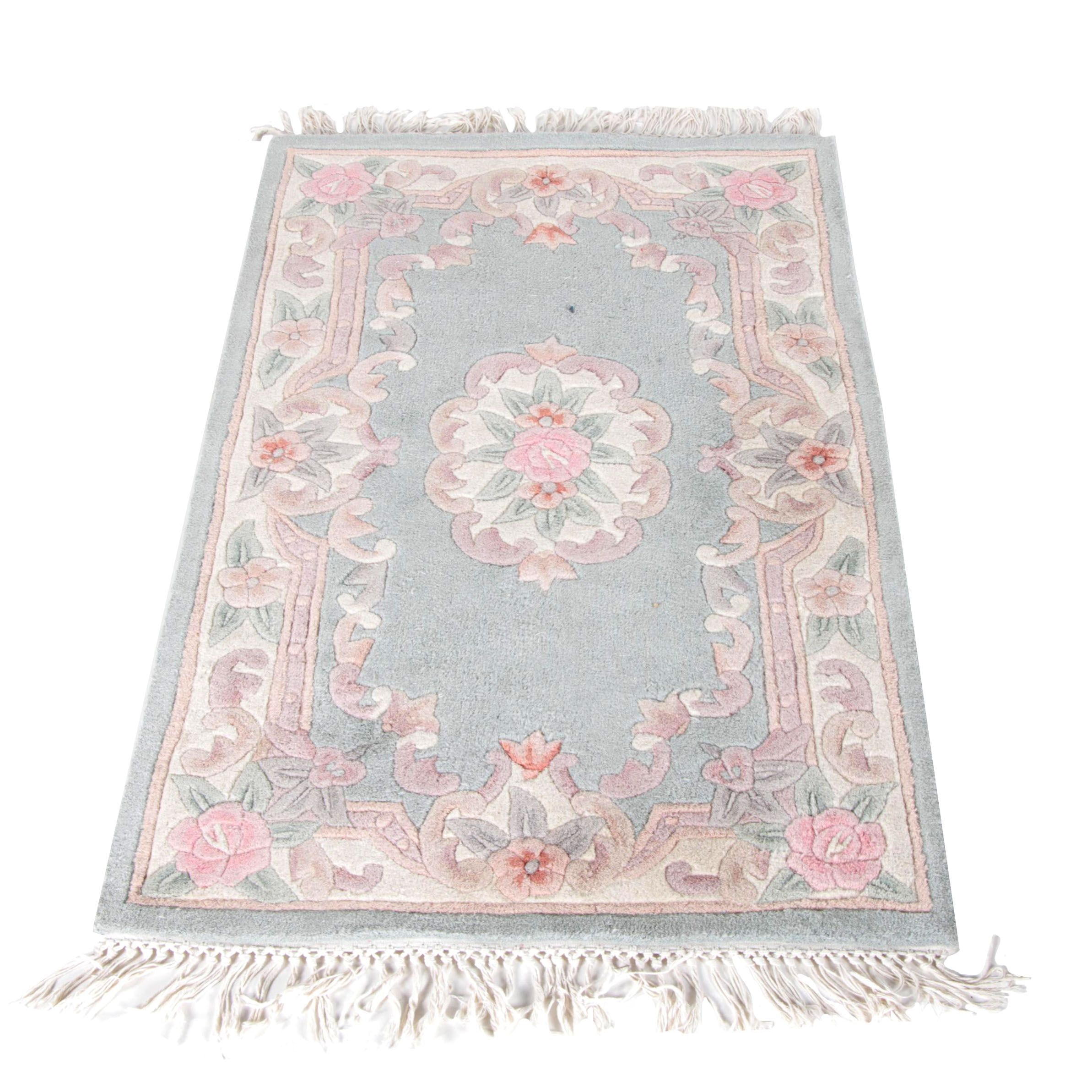 Chinese Aubusson Style Area Rug