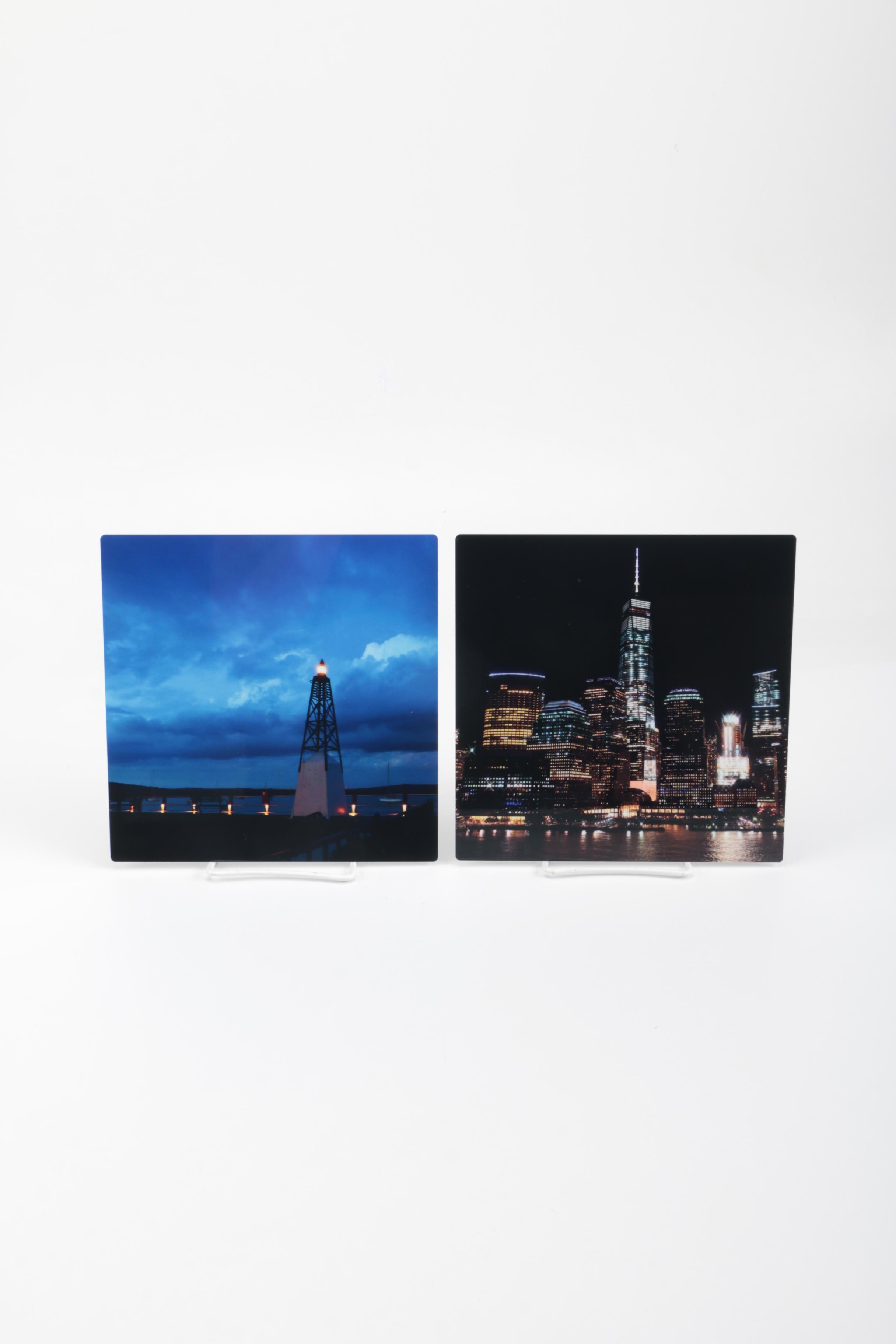 Pair of Photographic Prints on Chromalux