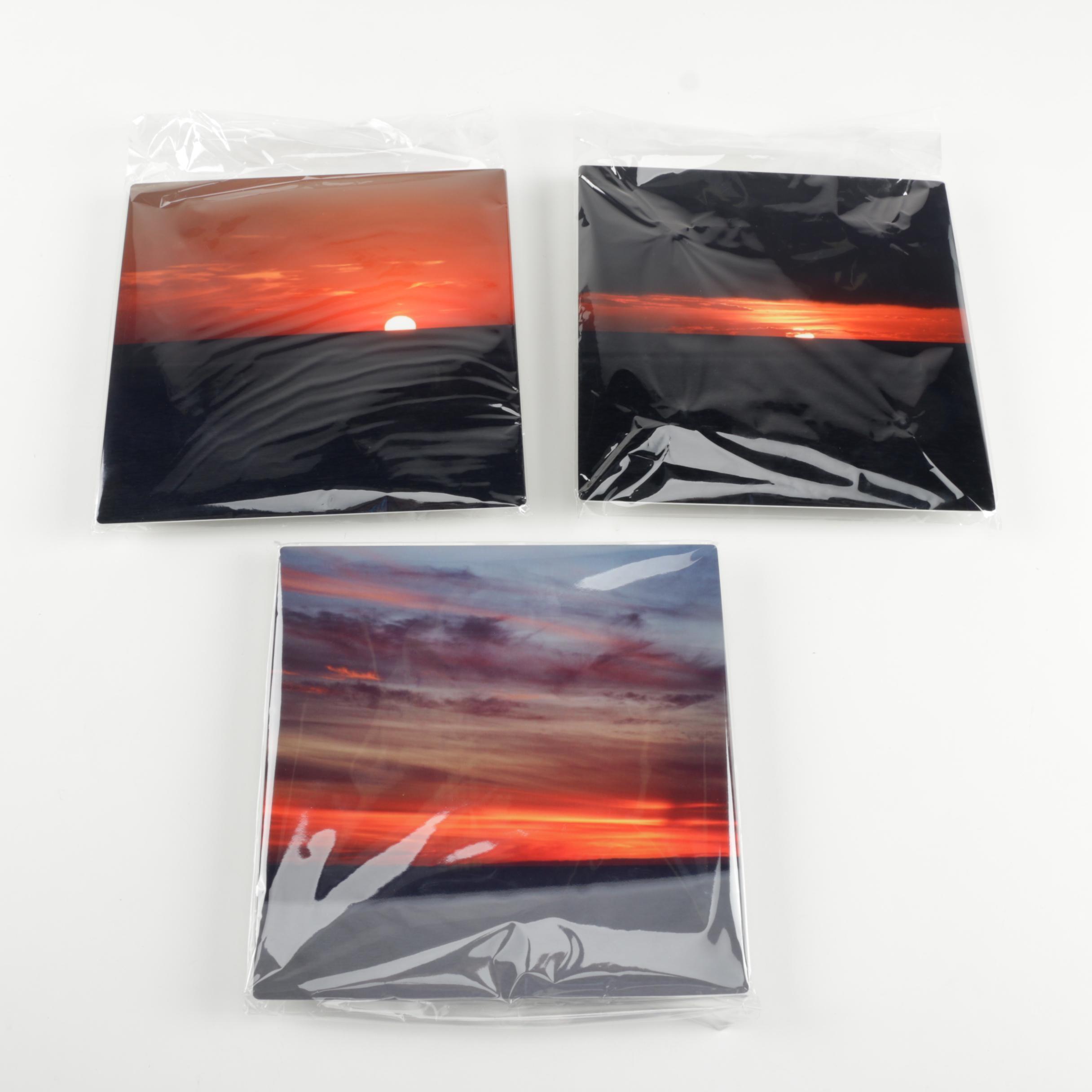 Digital Photographs of Sunsets