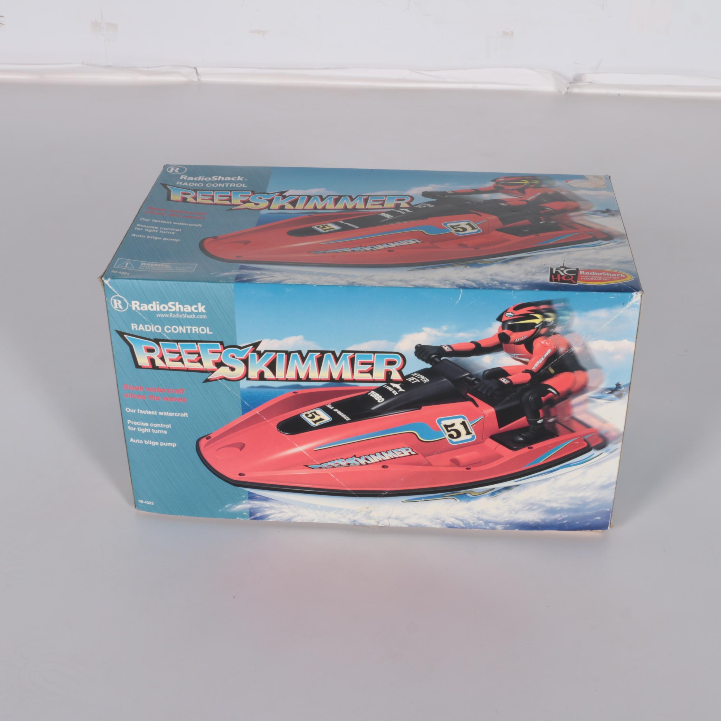 Radio Shack Reef Skimmer Remote Control Personal Watercraft in Box