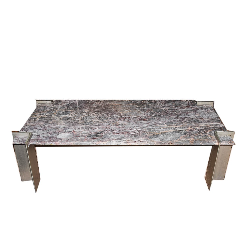 Agate Red Marble Coffee Table ...