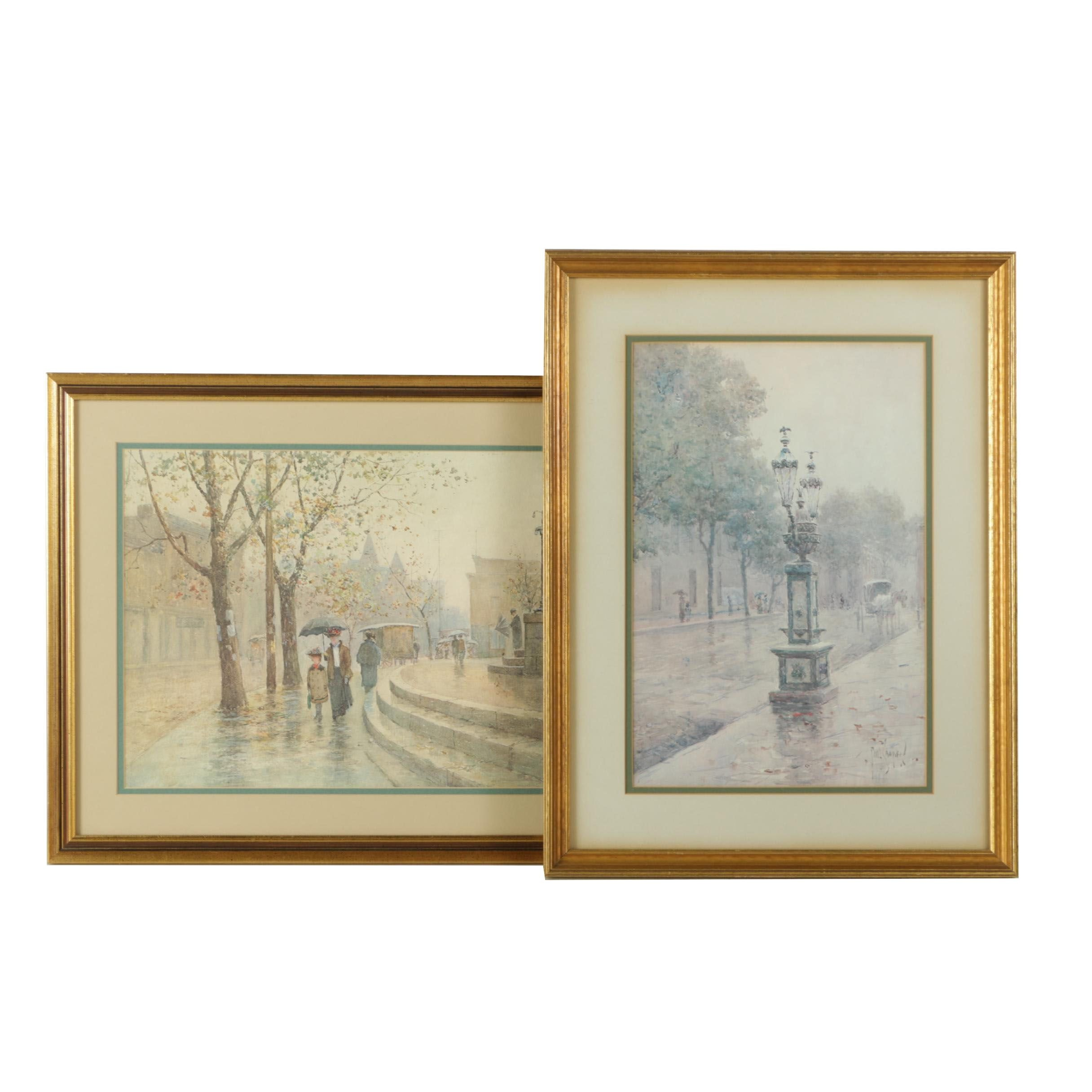 Reproduction Prints After Paul Sawyier Including a Limited Edition