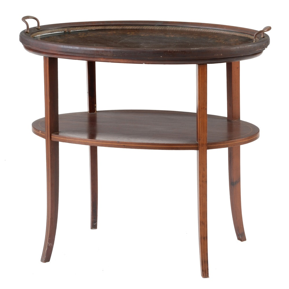 Victorian Tray Top Table