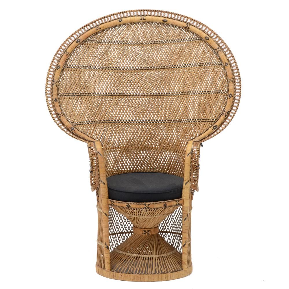 Rattan Woven Wicker Chair