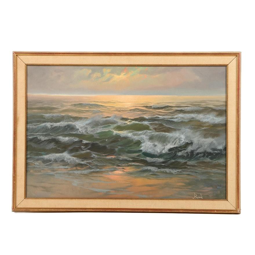 V Berk Oil Painting