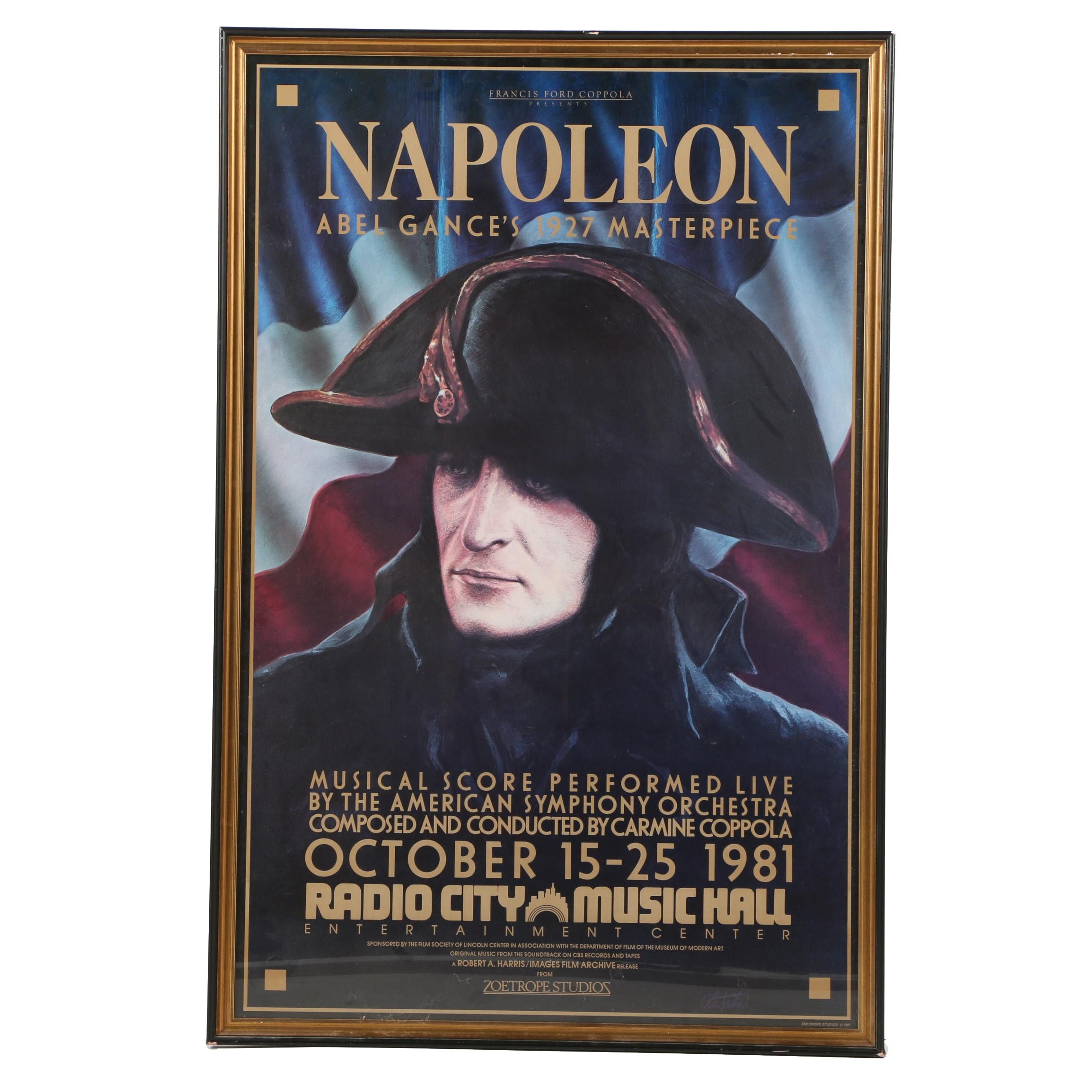 "Planographic Poster Print on Paper for ""Napoleon"""