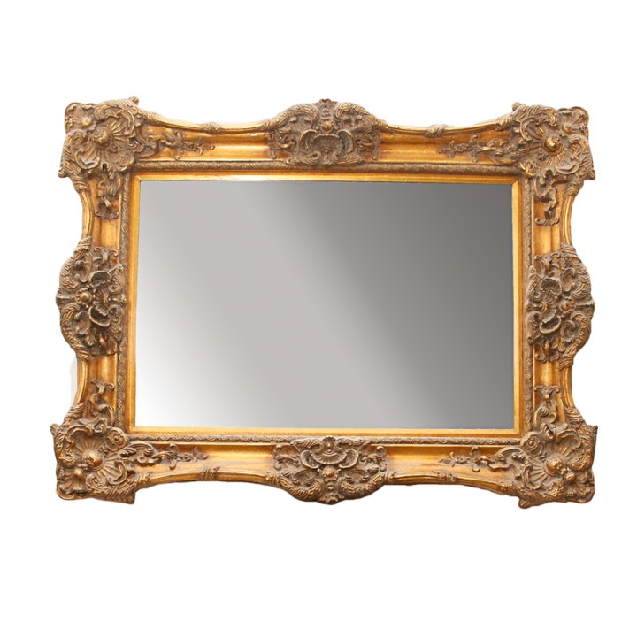 Venetian Style Framed Wall Mirror