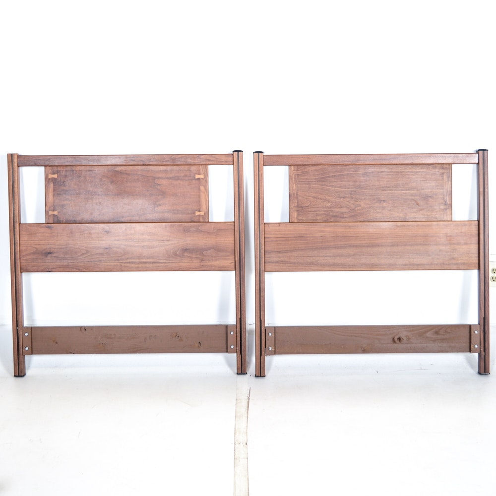 Pair of Mid Century Modern Twin Beds