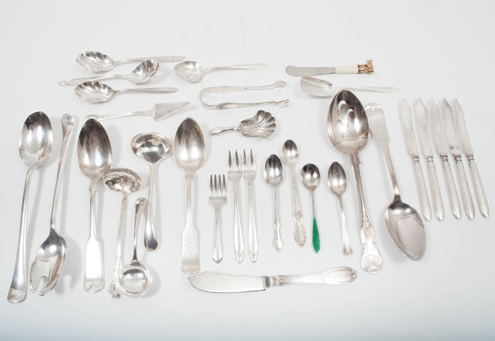 Plated Silver Flatware