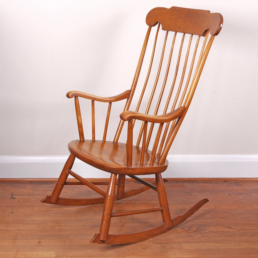 Rocking Chair By Conant Ball Furniture Makers
