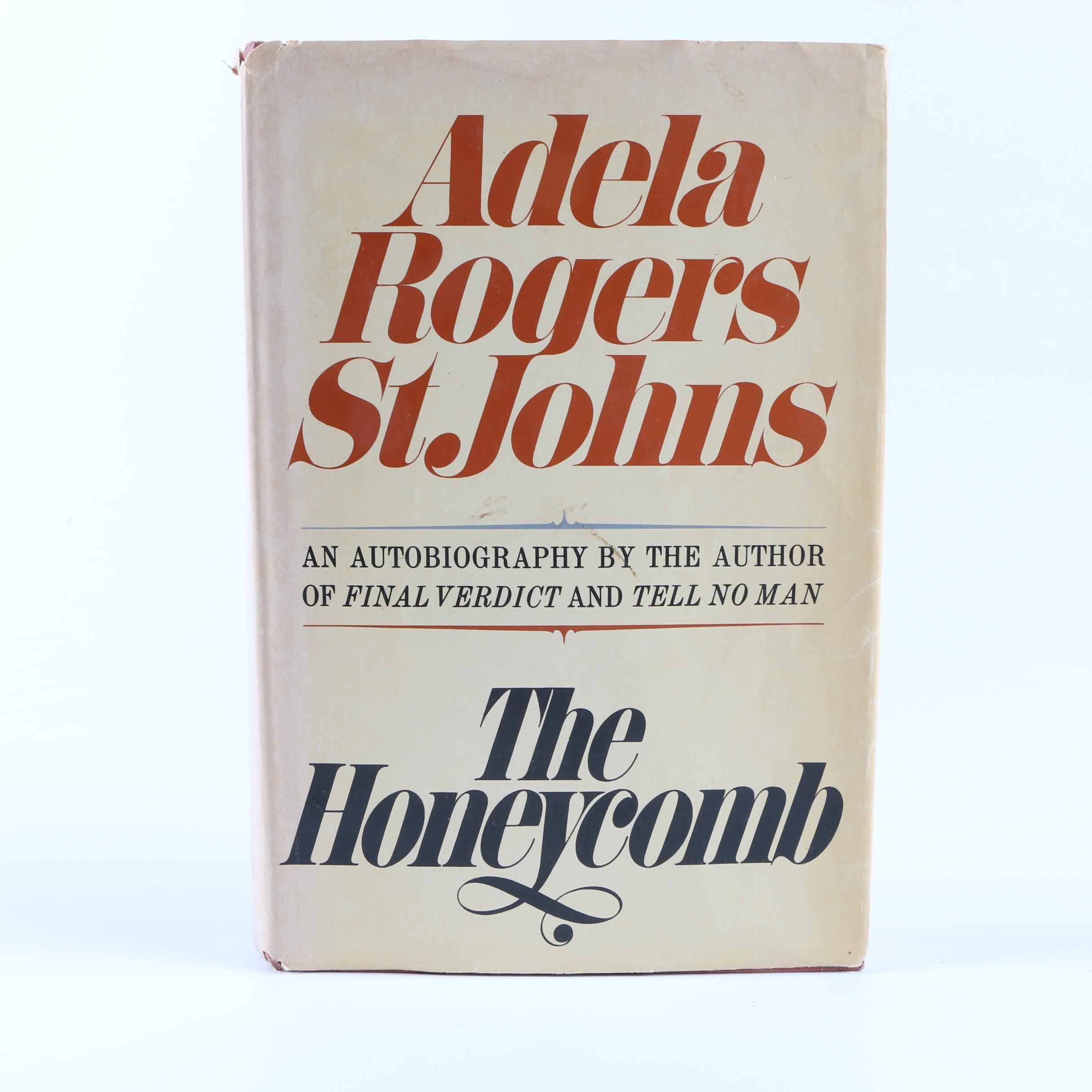 "1969 ""The Honeycomb"" by Adela Rogers St. Johns"