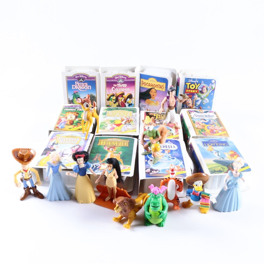 Disney mcdonald 39 s happy meal toys ebth for Happy playsets
