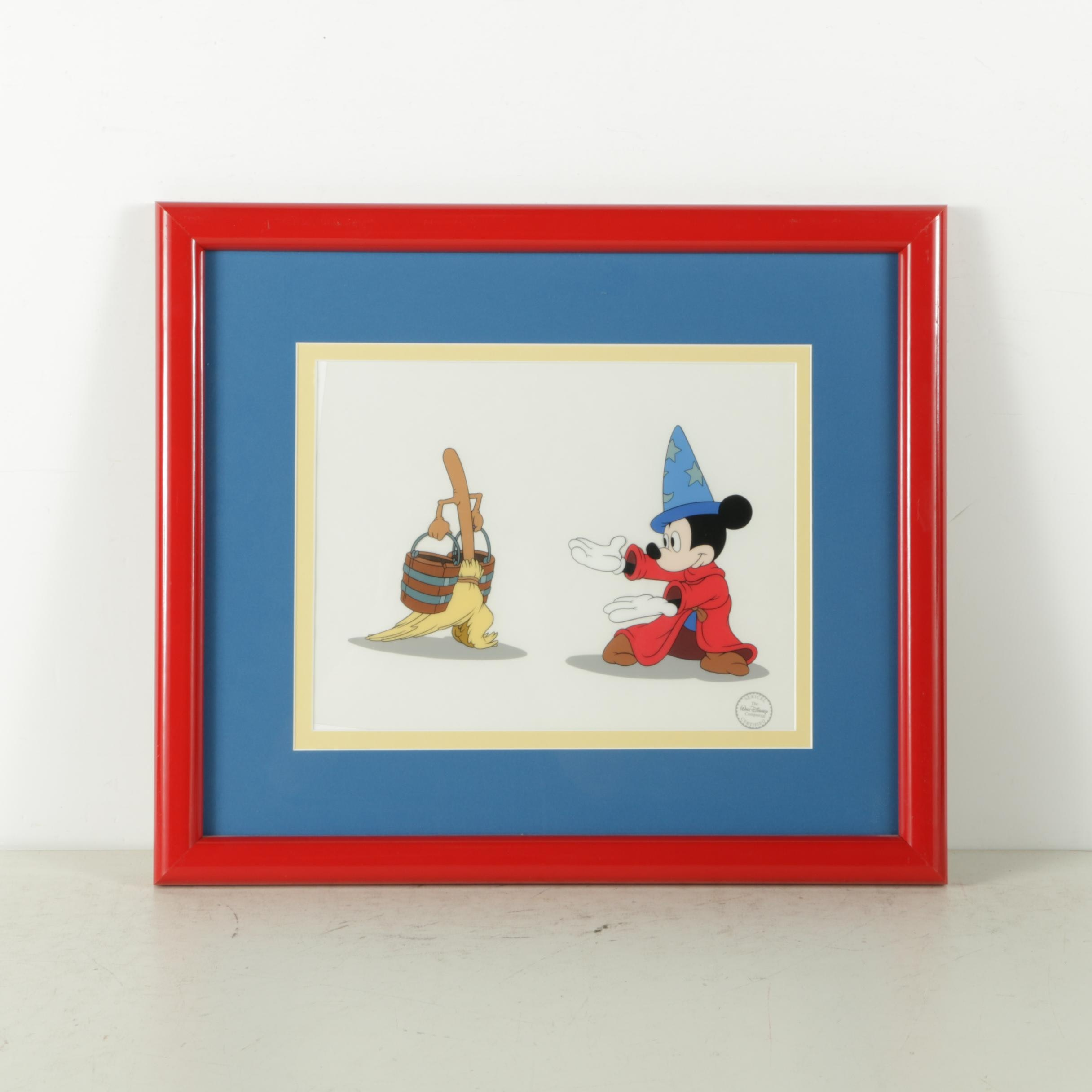 """Disney Limited Edition Sericel From """"Fantasia"""""""