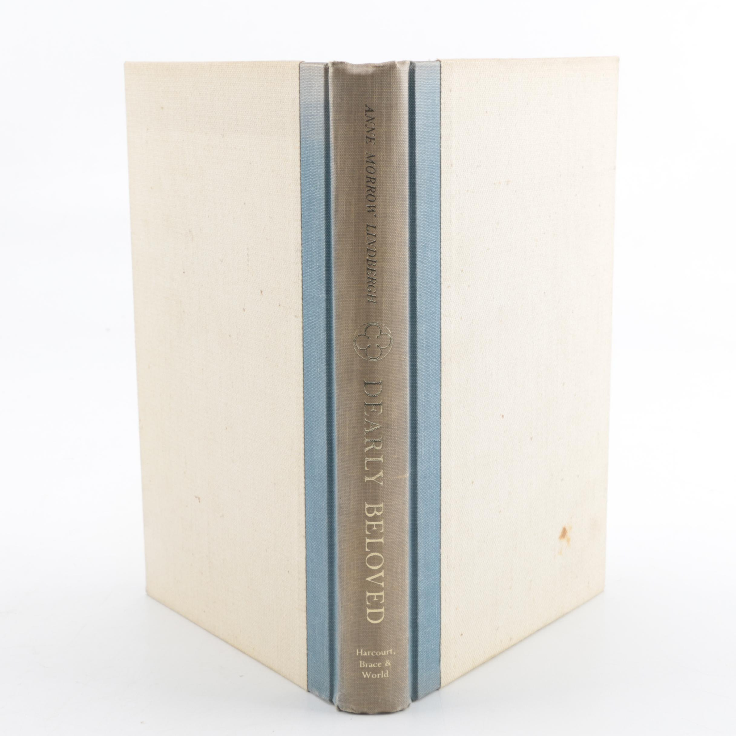 """1962 First Edition """"Dearly Beloved"""" by Anne Morrow Lindbergh"""