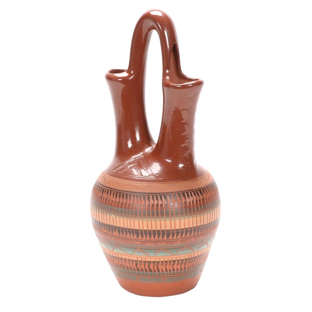 Navajo Wedding Vase