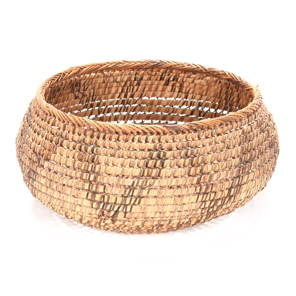 Vintage Tribal Basket
