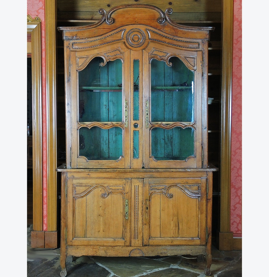 French country china cabinets - Antique French Country China Cabinet