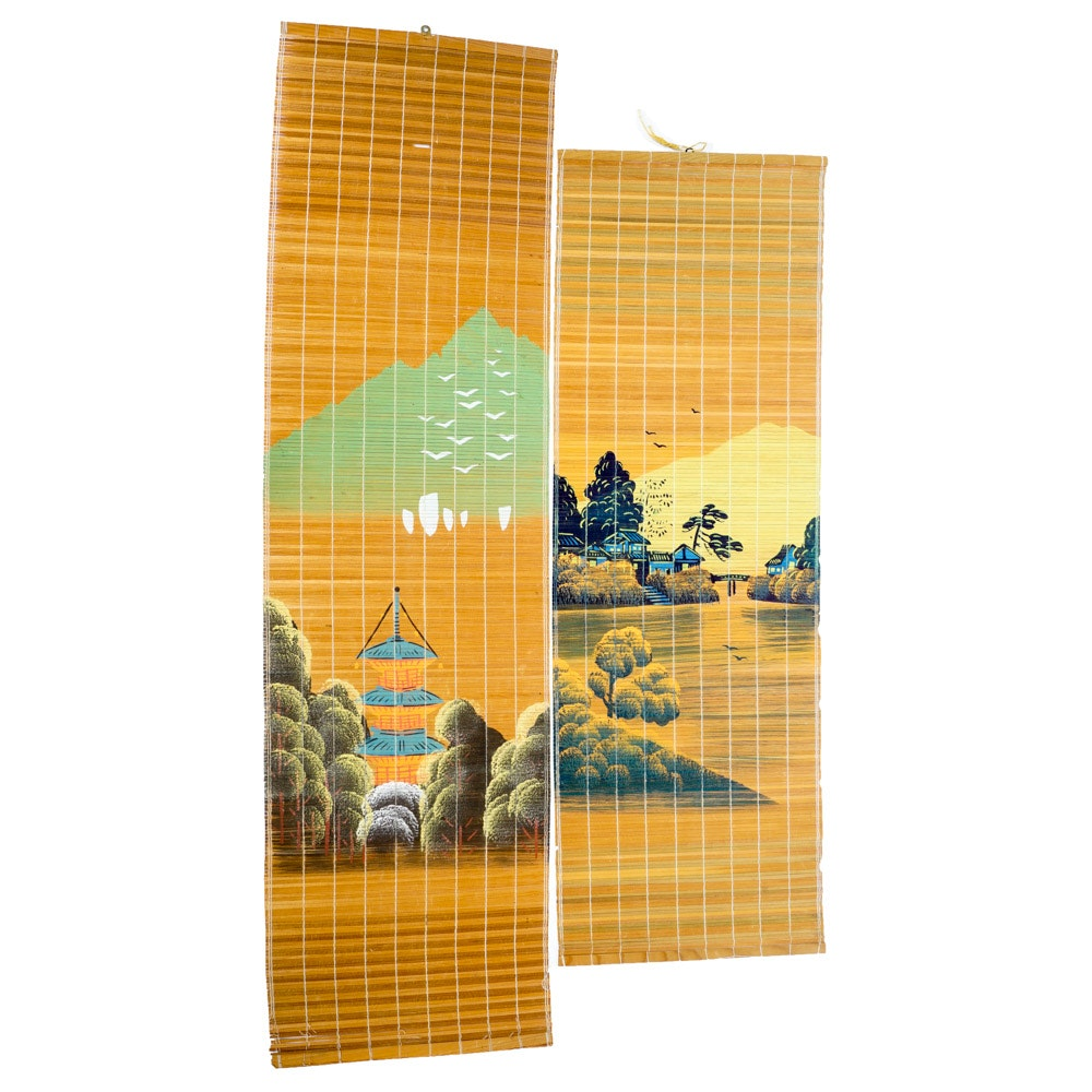 Asian Style Decorative Bamboo Wall Hangings