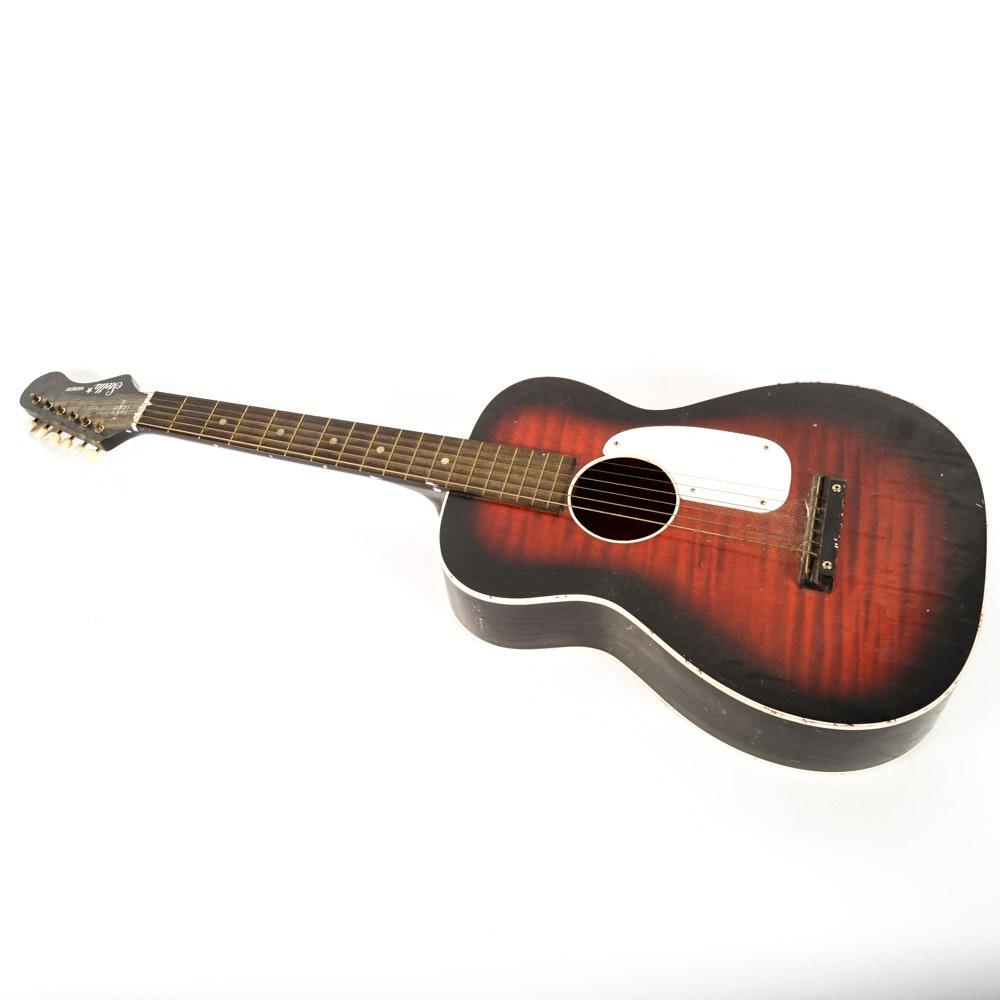 Acoustic Stella Harmony Guitar
