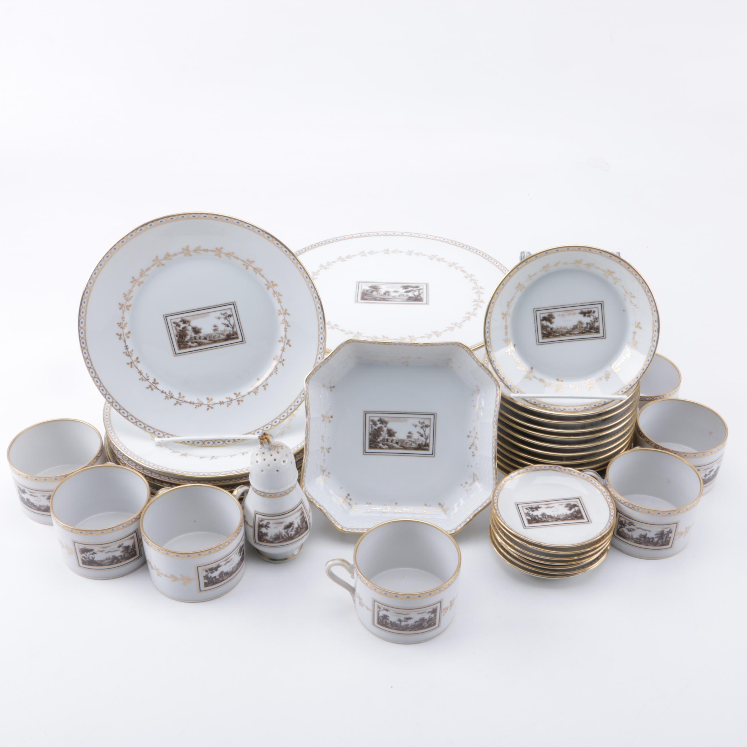 Richard Ginori Porcelain Tableware