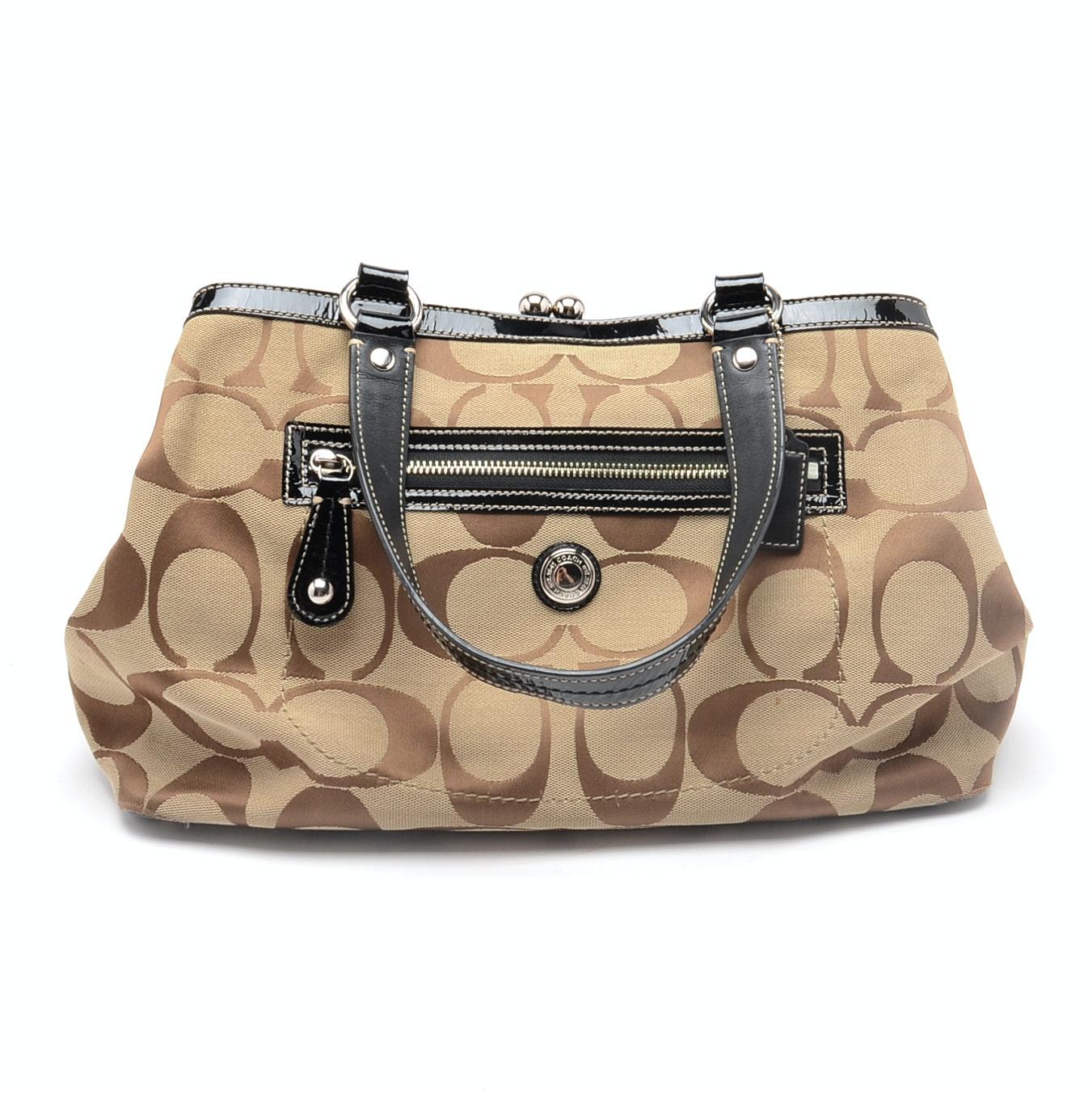 Coach Signature Style Handbag