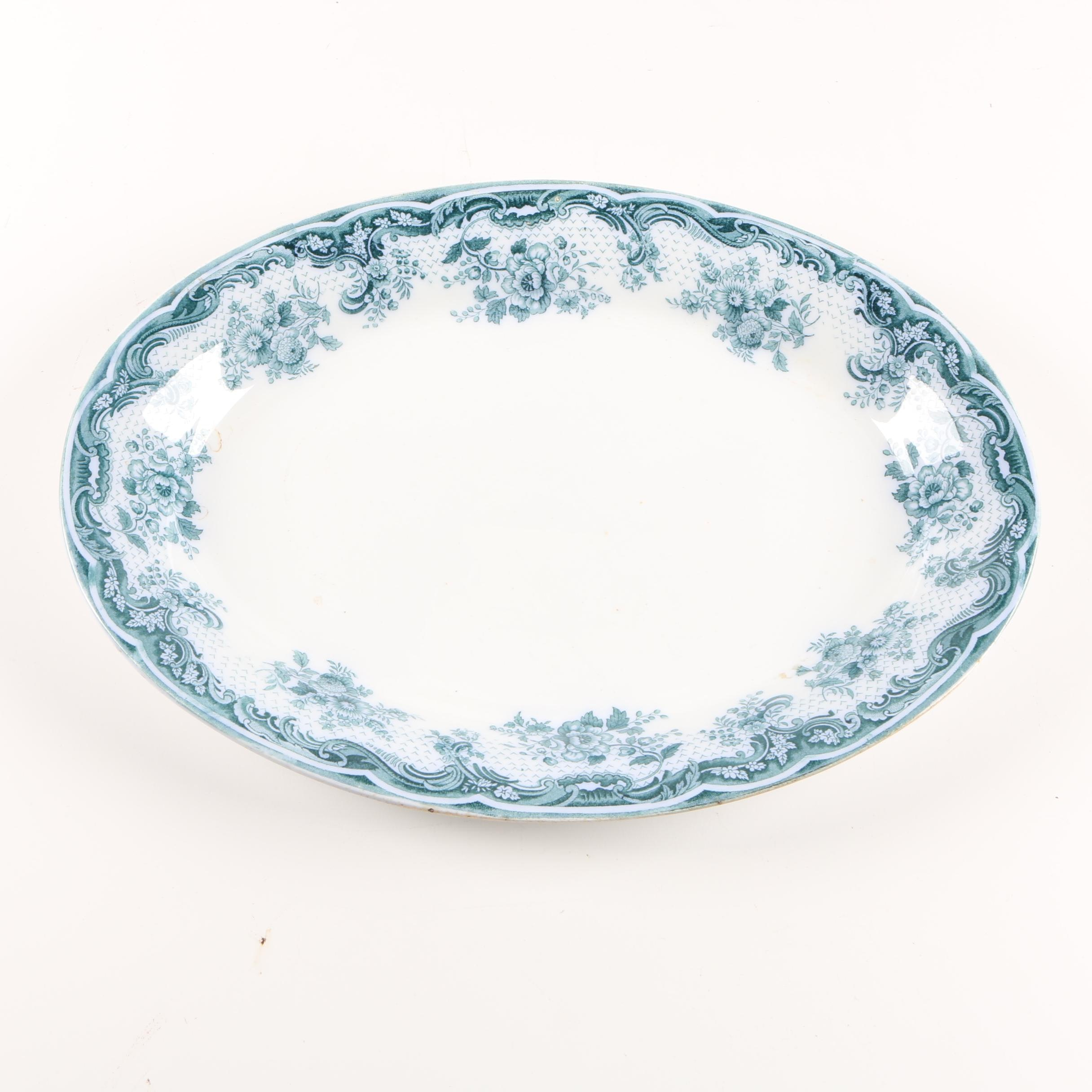 "Bourne & Leigh Royal Semi-Porcelain ""Ophir"" Platter"