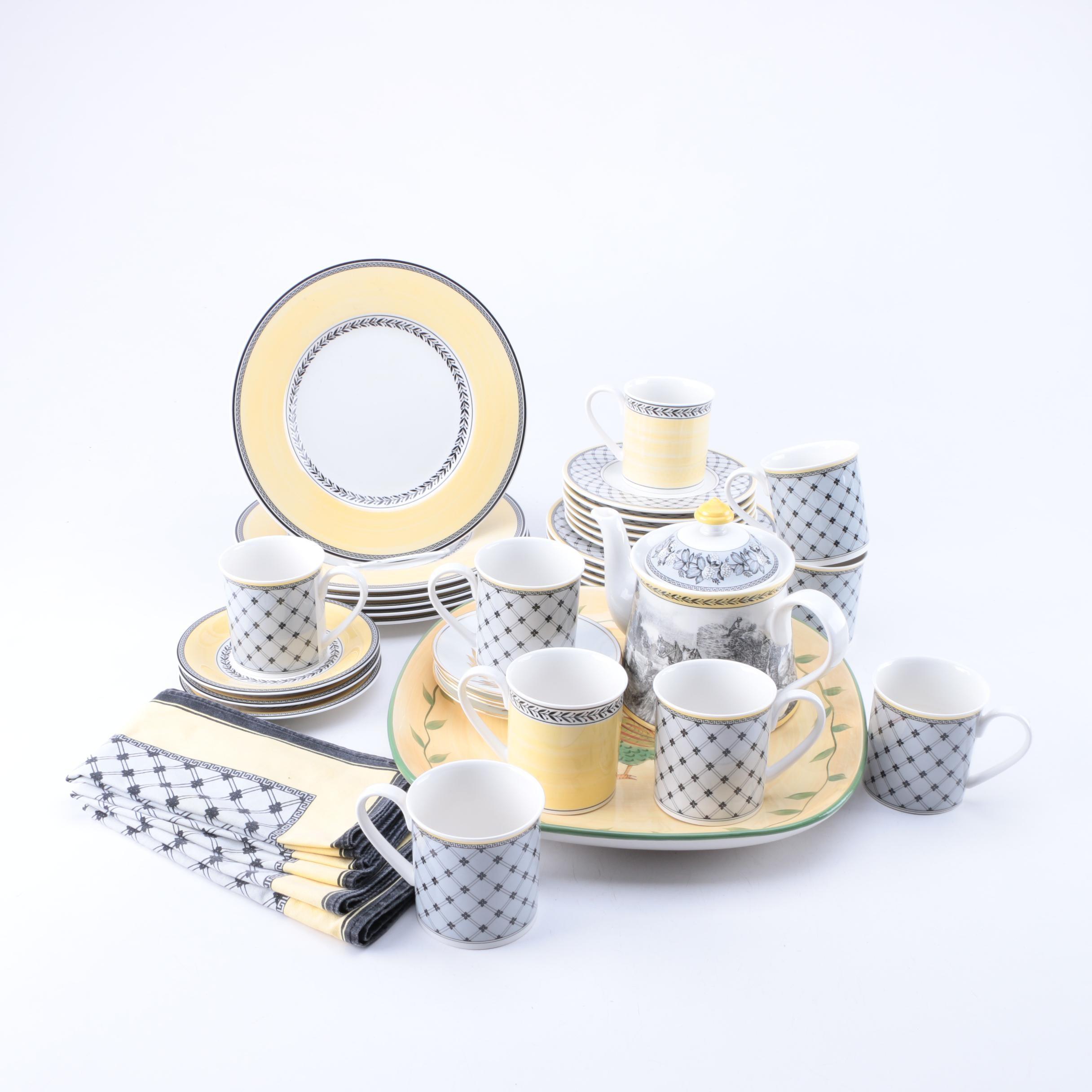 Villeroy u0026 Boch  Audun Fleur  Tableware ...  sc 1 st  EBTH.com & Villeroy u0026 Boch