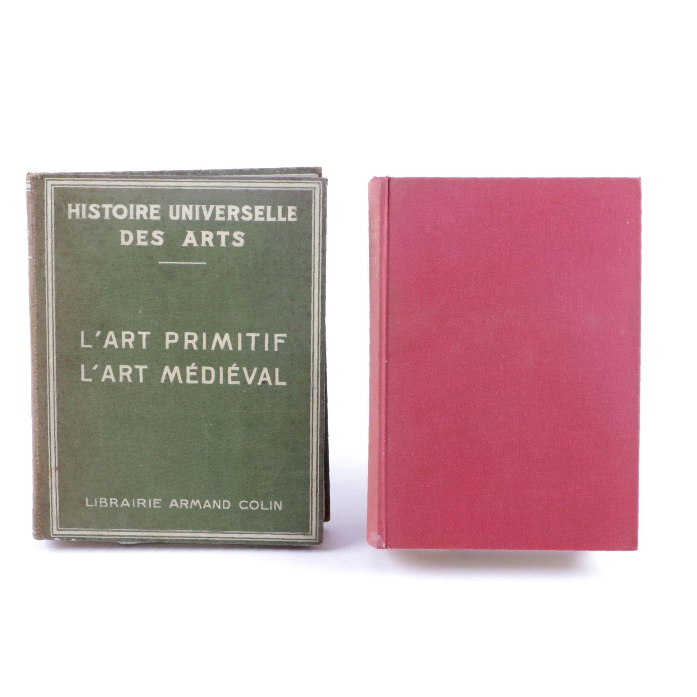 Vintage French-Language Art History Books