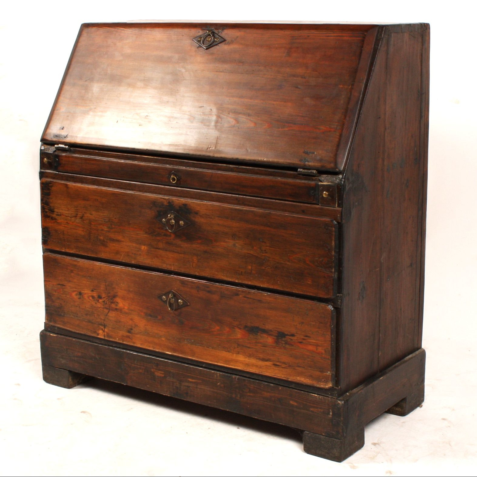 Early 19th Century Swedish Fall-Front Desk