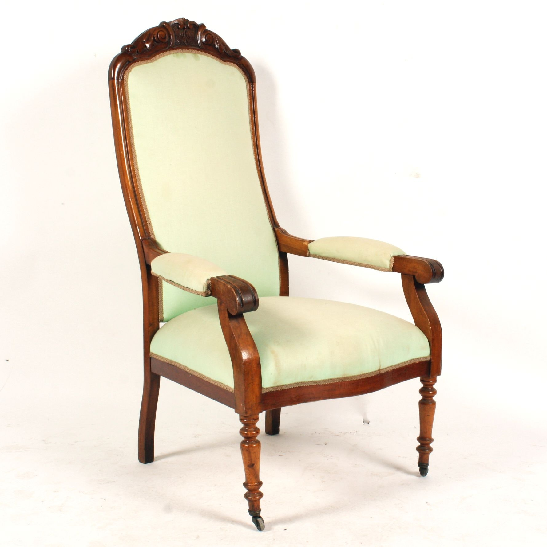 19th Century French Voltaire Armchair