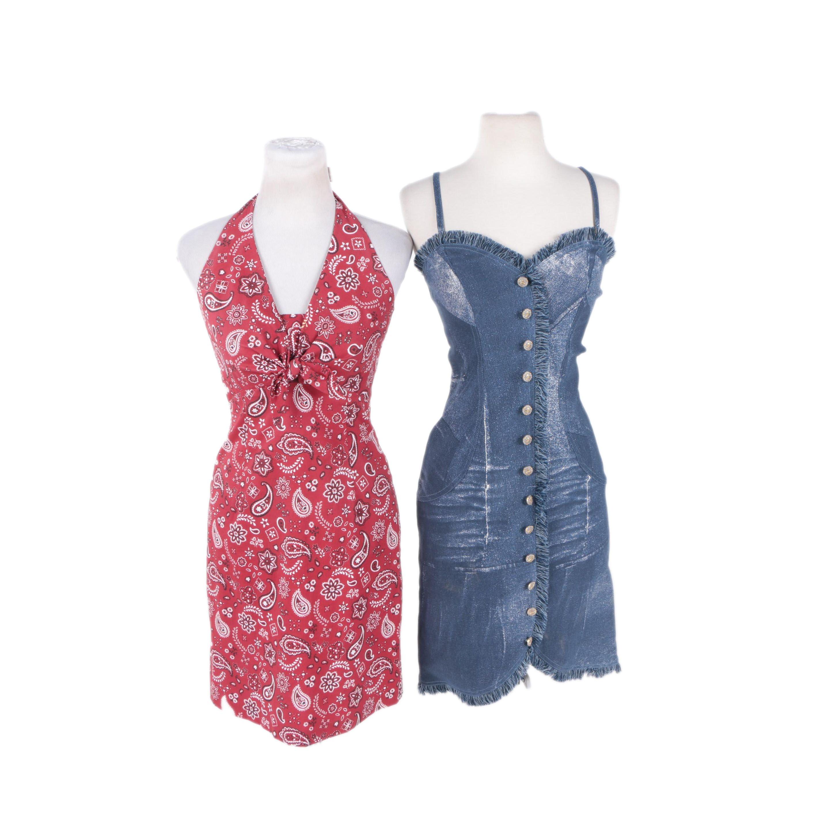 Women's Printed Dresses Including Jiki