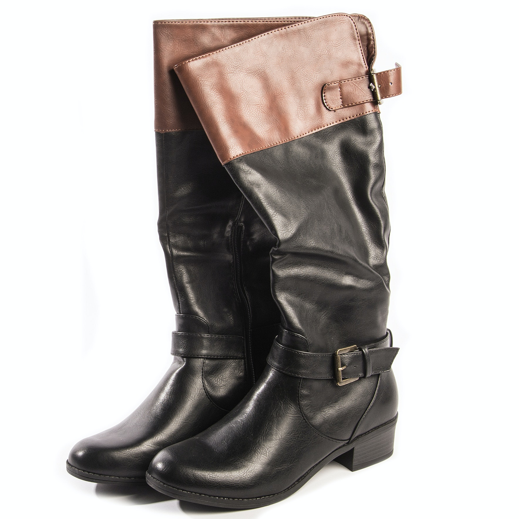"""Rampage """"Inkling"""" Leather Boots"""