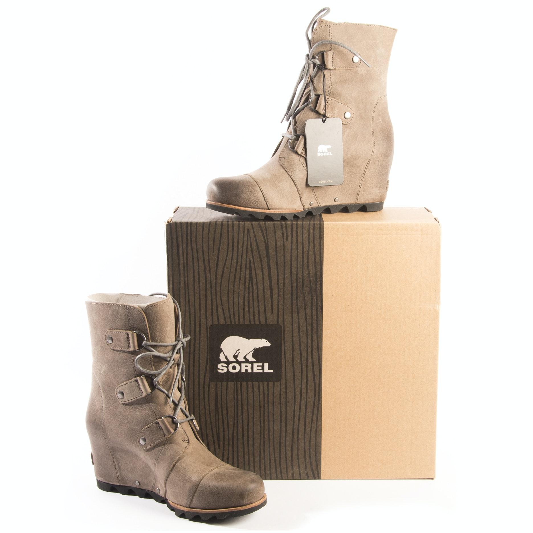 """Women's Sorel """"Joan Of Arctic"""" Wedge Boots"""