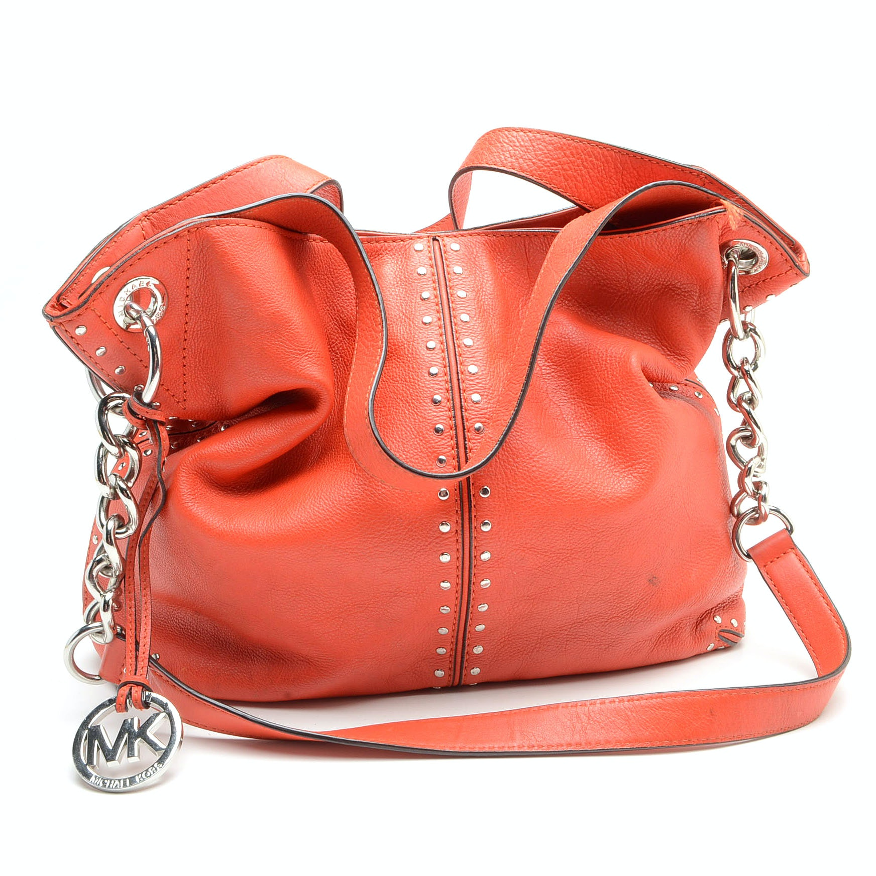 Michael by Michael Kors Red Leather Handbag