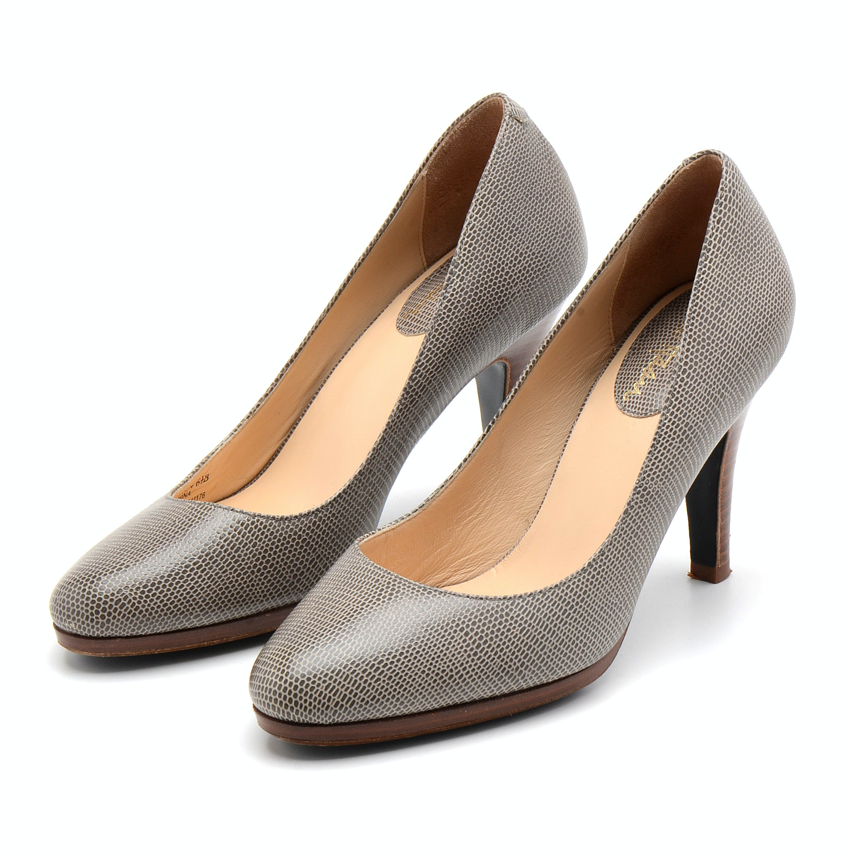 Cole Haan Pumps with Stacked Wood Heel and Nike Air Foot Bed