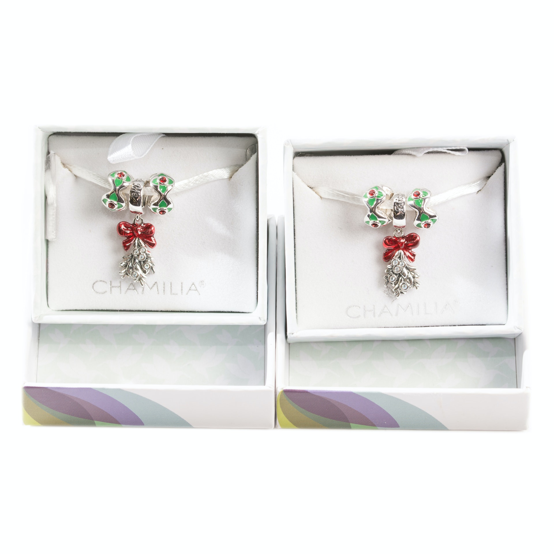 Sterling Silver Chamilia Christmas Charms