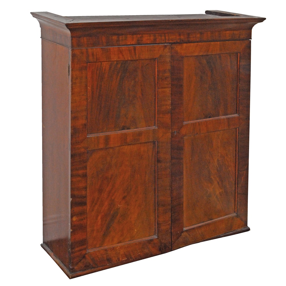 Early 19th Century Linen Press Cabinet ...
