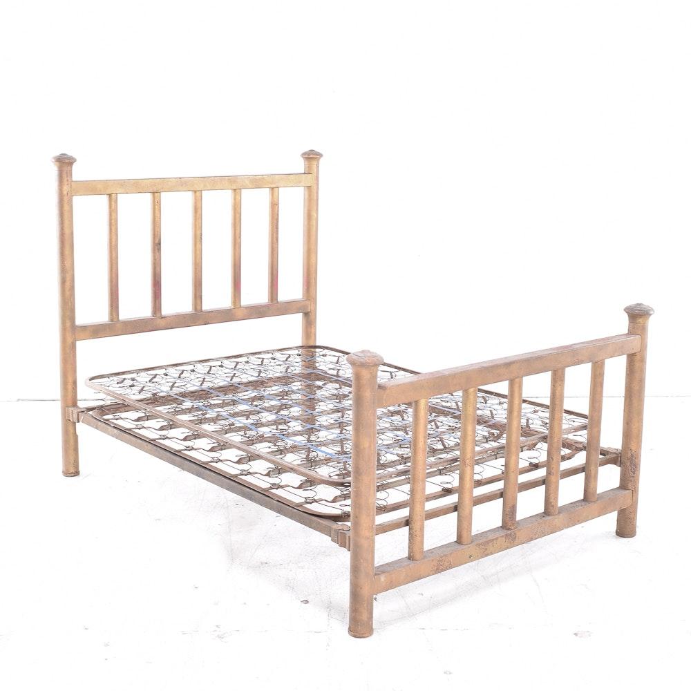 Antique Mission Brass Bed
